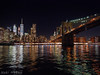 Brooklyn Bridge to New York at night (Noti NaBox) Tags: brooklyn bridge ny new york night nuit light lumière east river fleuve reflection panasonic panasonicg80 panasonicg85 g80 g85 gratteciel