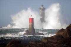 Retour au Four (philippe MANGUIN photographies) Tags: bretagne phare finistere porspoder tempete vague nibidic