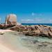 Beach Anse Marron La Digue, Seychelles