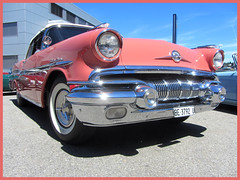 Pontiac Star Chief Convertible, 1957 (v8dub) Tags: pontiac star chief convertible 1957 cabrio cabriolet schweiz suisse switzerland langenthal american gm pkw voiture car wagen worldcars auto automobile automotive old oldtimer oldcar klassik classic collector