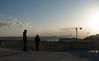 Terrace of the Pantheon in Lisbon (Emeric Kouakou) Tags: people sky city grue crane lisbonne lisbon light cloud nuage lumière sun solei