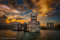 Stewords Riverboat (Askjell) Tags: marinabay marinasouthpiermrtstation maritime ships singapore stewordsriverboat vessel