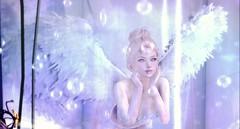 A sense of wonder (:-parfaitsprinkles-:) Tags: sintiklia viola sky epiphany gacha kurimukuma catwa uma blueberry icon wings angel bubbles maitreya