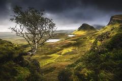 Lever du soleil au Quiraing (Isle of Skye, Ecosse  ) (Olivier Rocq ᕈhotography) Tags: isleofskye scotland quiraing landscape landscapes paysage paysages ecosse nature fantasticnature mountains