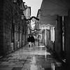 Streets of Dubrovnik (Koprek) Tags: dubrovnik nightlight streetphotography croatia rolleiflex28f kodaktrix 1600 low light rain cold wind