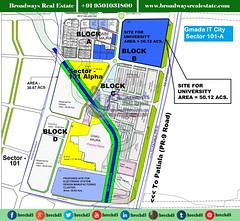gmada-it-city-map-sector-101a