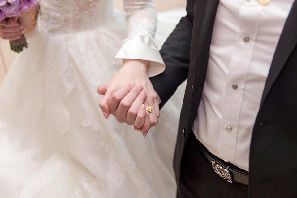 婚攝 高雄林皇宮 婚宴 時尚氣質新娘現身 S & R 065
