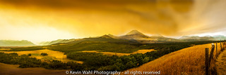 waterton fire Panorama