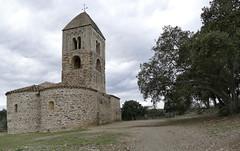 FITOR - ESGLESIA DE SANTA COLOMA (Joan Biarnés) Tags: fitor lesgavarres baixempordà empordà girona catalunya 240 panasonicfz1000 esglesia iglesia