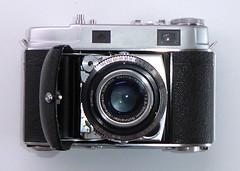 Kodak Retina IIc (pho-Tony) Tags: photosofcameras kodakretinaiic kodak retina iic folding folder 35mm compact germany rangefinder schneiderkreuznach schneider kreuznach 50mm f28 128 retinaxenon xenon