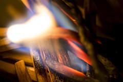 Mat ch & flame (AbusimbelP) Tags: flame fire matches match macro madromondays mondays macromondays