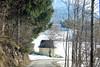 Chapel beside the road - - (rotraud_71) Tags: austria salzburgerland stkoloman road chapel trees snow winter