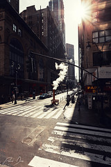 Steam (patrickdunse) Tags: 1740mm 33rdstreet 5thave 5thavenue 6d america amerika bigapple buildings canon canon6d canonef1740mmf4lusm canoneos6d city dampf eos east gebäude licht light manhattan midtown ny nyc newyork newyorkcity osten panoramalens sonne sonnenaufgang stadt stadtmitte steam sun sunrise usa usm unitedstates wasser water weitwinkel weitwinkelobjektiv panorama wideangle wideanglelens