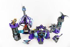 "Jestro's Castle - LEGO Nexo Knights 70356 Alternate MOC (""grohl"") Tags: castle nexo nexoknights fortress 70356 jestro destruction colossus modular dinosaur dino clay macy garg alterante cmodel grohl666 2017 brickster creature"