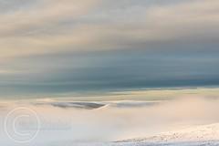 Pennine Winter Jan 2018 115 - Pule Hill above the cloud (Mark Schofield @ JB Schofield) Tags: wessenden wessendenvalley wessendenhead west westnab moors moorland hills valley marsden meltham huddersfield yorkshire yorkshirewater reservoir digley holmemoss thenationaltrust snow winter ice sunset landscape canon eos 5dmk4 mist cloud fog rolling reflections pulehill buckstones watershed pennineway