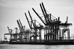 saluting (Al Fed) Tags: 20171015 feierabendbier hh saluting harbor star wars containers ship hamburg hafen