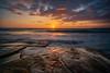 High Tide (Alex Apostolopoulos) Tags: cyprus longexposure sunset tide water clouds rock sea seascape sky sun