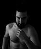 Estado puro (Tony Cuesta) Tags: retrato barba hombre mirada blanco y negro pelo largo desnudo artistico sensación deseo