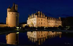 Nocturne au château des dames (Sugarth Photo) Tags: châteaux chenonceau bluehour nuit touraine 37 d610 longexposure