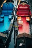 Secret Marriage (Tom Levold (www.levold.de/photosphere)) Tags: venice xpro2 xf18135mm venedig fuji venezia gondeln red blue gondolas blau rot