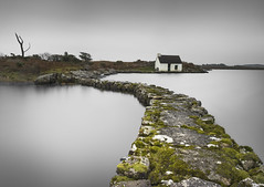 Fishermans Cottage (Illogical_images) Tags: fisherman cottage connemara longexposure illogicalimages sony a7r still pathway water