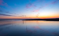 Sunset at Spiekeroog (Acobaleno) Tags: golden blue spiekeroog nordsee northsea sunset