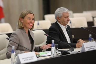 Federica Mogherini participates at the Gymnich Informal Meeting of Foreign Affairs Council in Sofia, February 2018