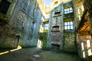 Helmsley Castle - What must have been a grand halls with huge fire places a long time ago