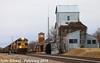 3/12 NS 1074(Lackawanna) Leads NB Empty Coal Drag Lenexa, KS 2-10-18 (KansasScanner) Tags: olathe lenexa kansascity kansas missouri kck kcmo bnsf ns train railroad ns1074 lackawanna locomotive