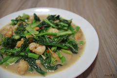 [self cook] Stir fry vege with scallops (Ken Goh thanks for 2 Million views) Tags: vege stir fry scallops food photography pentax k1 da35 ltd macro natural lighting