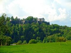 Festung Königstein (michaelschneider17) Tags: reisen kultur deutschland sachsen geschichte