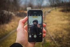 iPhone Love (Fabio Scalvinoni.) Tags: cold winter landscape land natural nature iamnikon nikkor selfie self iphone365 iphonephoto iphone bokeh nikond90 d90 nikon passion photography photo green
