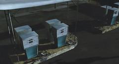 I met my love by the gas pumps (g a b r i e l l e s w i n d l e h u r s t) Tags: sl taikou gas pumps japan diesel soy