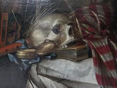 """Vanitas"", Cornelis Norbertus Gijsbrechts, actif à Bruges en 1657-1675, Musée des Beaux-Arts, Bordeaux, Nouvelle-Aquitaine, France. (byb64) Tags: muséedesbeauxartsdebordeaux bordeaux burdeos gironde gironda 33 aquitaine aquitania akitania aquitanien nouvelleaquitaine france francia frankreich europe europa eu ue gascogne gascony gascona gasconha guyenne guienne guyena musée museum museo beauxarts tableau painting dipinto cuadro xviie 17th seicento martyr martyre martirio rubens pierrepaulrubens peterpaulrubens stgeorges vanité vanitas stilllife naturemorte naturamorta bodegon stillleben"