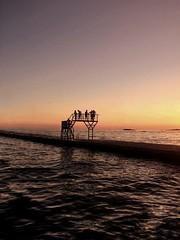 Sunsets back in Kroatia (Poreč) (berreverresen) Tags: sunset warm water travek nice swimming summer jump pink ocean sea suninsea late kroatia