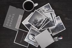Coffee & prints (pierfrancescacasadio) Tags: caffè febbraio2018 15022018840a51225 prints coffee printyourphotos artifactuprising 50mm photos lifeisarainbow 752 grey grigio