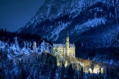 Wintry Castle (hapulcu) Tags: deutschland germany allemagne bavaria winter fussen allgau bavarie bayern hiver invierno castle schloss alemania duitsland