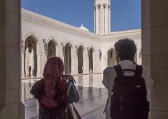 Muscat Sulan Qaboos Mosque (lyndakmorris) Tags: muscat oman