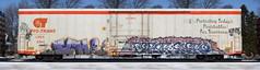 Ich/Fervr/Enero (quiet-silence) Tags: graffiti graff freight fr8 train railroad railcar art ich ichabod fervor fervr enero cryx cryo cryotrans insulated boxcar cryx6144