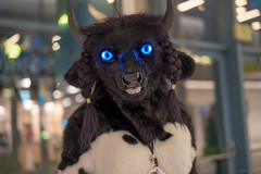 DSC01517 (Kory / Leo Nardo) Tags: furry fursuit suiting dance party dj con convention further confusion fc san jose marriott center 2018 fc2018 pupleo leo kory fur costume costuming cosplay animals