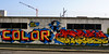 Color Madness (by Heavy Weights) (Red Cathedral uses albums) Tags: redcathedral aztektv sony alpha slt mkii sonyalpha a77ii a77 dslr sonyslta77ii translucentmirrortechnology wanderlust digitalnomad streetart urbanart contemporaryart graffiti protest activism alittlebitofcommonsenseisagoodthing travellingphotographer travel antwerpen antwerp luchtbal columbiastraat