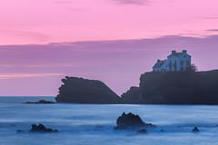 Le Pouldu (Faouic) Tags: france bretagne finistère lepouldu coucherdesoleil mer falaise