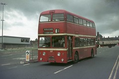 4127. RCX 127G: West Yorkshire PTE (chucklebuster) Tags: rcx127g west yorkshire pte wypte huddersfield corporation joc daimler fleetline roe