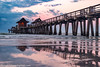 Before the Storm (captgerryhare) Tags: spanning stands storm see rails almost length early transported passenger baggage train narrow go community 1888 we landmark time florida dock visiting every the pier different make naples built freight gauge i 1900s