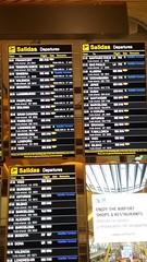 (sftrajan) Tags: madrid spain españa airport barajas barajasairport aeropuerto aeropuertoadolfosuárezmadridbarajas аэропорт departures partenze salidas sign flughafen aeroporto