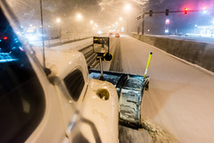 @20180112-D5 PlowingUS33-56 (OhioDOT) Tags: district5 odot plow ridealong route33 salt six snow storm plowing truck