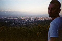 (Just A Stray Cat) Tags: kodak max 400 expired mountain profile lanscape cityscape sofia bulgaria 35mm film 35 mm analog analogue filmisnotdead