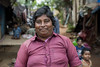 Gypsy community, Pondicherry (Stuart-Cohen) Tags: pondicherry india gypsy gypsies slum samugamtrust poverty woman
