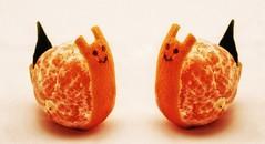 Look at me! (Luc1659) Tags: riflessi simmetrie mandaranci orange inverno agrumi citrusfruit doubleexposure