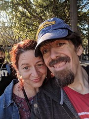 Selfie (earthdog) Tags: 2018 disneyland anaheim california googlepixel pixel androidapp moblog cameraphone selfie self earthdog kate family katiegirl2007